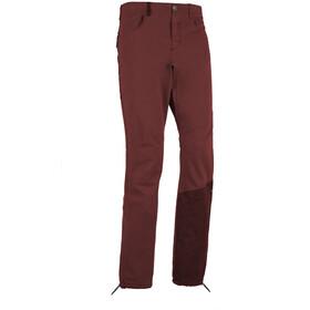 E9 Mont1 Trousers Men, wine